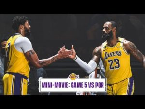 Mini-Movie: Lakers Close Out Portland