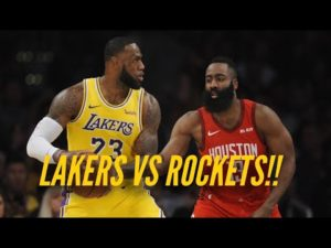 Let's go! Lakers vs Rockets Series Preview!