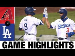 Chris Taylor leads the Dodgers to a 6-3 win | D-backs vs Dodgers Highlights 9/1/20