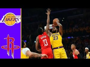 Los Angeles Lakers vs Houston Rockets – Full 3rd Quarter – Game 2 | NBA Playoff (9/6/2020)