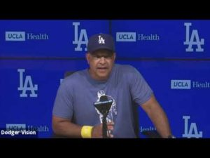 Dodgers pregame: Dave Roberts says Joc Pederson not with team