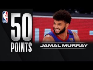 Jamal Murray Pours In 50 PTS For Nuggets In Game 4