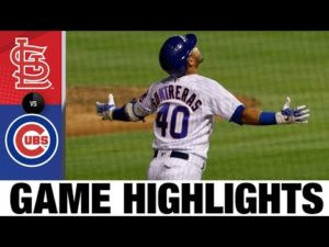 Darvish, Contreras lead Cubs in 4-1 win | Cardinals-Cubs Game Highlights 9/4/20