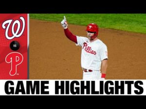 Balanced offense leads Phillies to 8-6 win | Nationals-Phillies Game Highlights 8/31/20