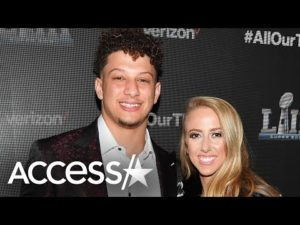 Patrick Mahomes & Fiancé Expecting First Child