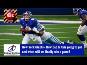 New York Giants - How Bad is this going to get for the NY Giants & when will we finally win a game?