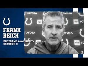Frank Reich Postgame Press Conference | Colts At Browns