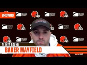 "Baker Mayfield: ""We have very high expectations for ourselves. We're eager to get back to work."""