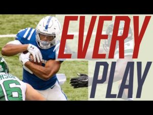 Jonathan Taylor | Every Play | Week 3 | 2020