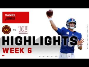 Daniel Jones Gallops to His 1st Win of the Season | NFL 2020 Highlights