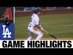Dodgers score 2 in 10th in walk-off win | D-backs-Dodgers Game Highlight 9/2/20
