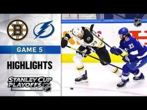 NHL Highlights | Second Round, Gm5 Bruins @ Lightning - Aug. 31, 2020