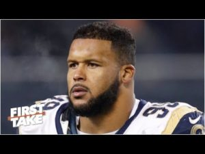 "Marcus Spear & Aaron Donald ""heated"" Los Angeles Rams vs Chicago Bears Week 7"