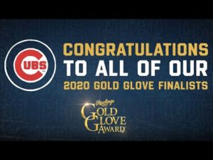 Chicago Cubs 2020 Rawlings Gold Glove Awards Finalists