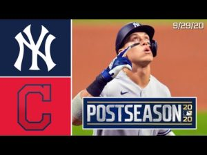 New York Yankees @ Cleveland Indians | Game Highlights | ALWC Game One