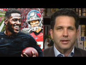 "Adam Schefter ""on fire"" Tampa Bay Bucs vs New York Giants, A. Brown can't play due policy suspension"