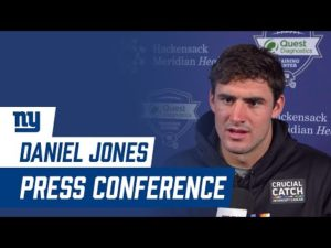 Daniel Jones: 'All these divisional games are big' | New York Giants