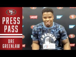 Dre Greenlaw on Playing Cam Newton | 49ers
