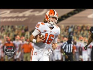Trevor Lawrence slings three touchdowns for Clemson vs. Wake Forest | College Football Highlights