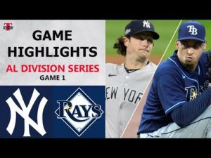 New York Yankees vs. Tampa Bay Rays Game 1 Highlights | ALDS (2020)