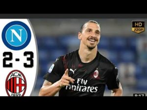 Napoli vs Milan AC 2-3 ALL GOAL