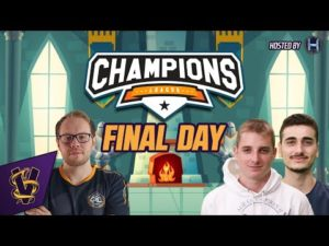 AoE Champions League | Final Day!
