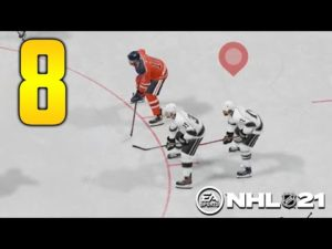 Never dangle at the blue line Los Angeles Kings VS Edmonton Oilers (NHL 21 part 8)