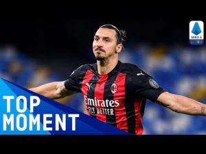 Ibrahimović scores header from edge of box! | Napoli 1-3 Milan | Top Moment | Serie A TIM