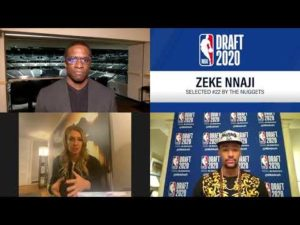 2020 Draft night interview with Zeke Nnaji