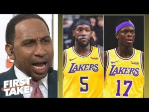 First Take | Stephen A: Montrezl Harrell on Clippers' lack of interest,making life easier for LeBron