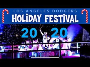 Los Angeles Dodgers Holiday Festival | Worth The $100+ Drive Thru Experience ?