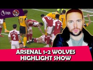 Mikel Arteta OUT! | Shocking Raul Jimenez Injury | Arsenal 1-2 Wolves EPL Highlights Show