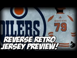 EDMONTON OILERS RELEASE PREVIEW Of New Reverse Retro Jersey | NHL + Adidas 4th Jersey Program