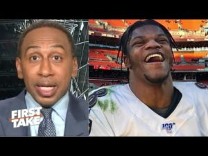 Baltimore Ravens vs Pittsburgh Steelers: 84% BAL chance to make playoffs - Stephen A. | FIRST TAKE