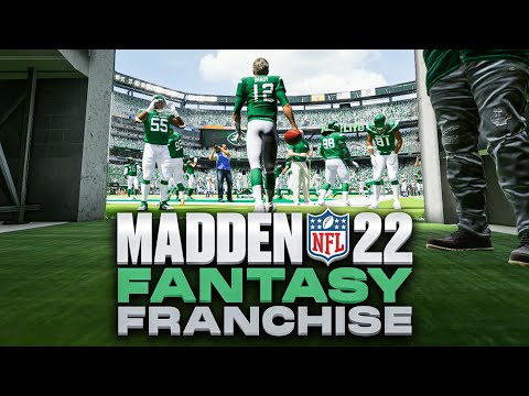 Madden 22 New York Jets Franchise Mode Ep. 4   Brady Goes Off in Wildcard Round!
