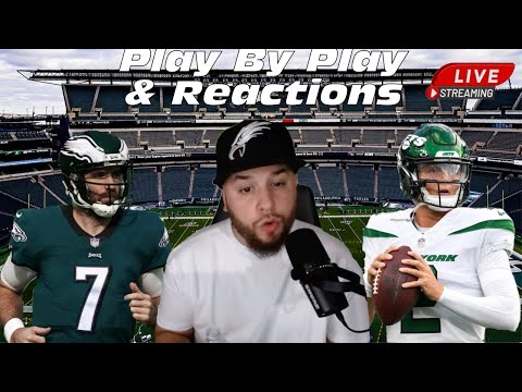 Philadelphia Eagles Vs New York Jets Live Play By Play & Reactions