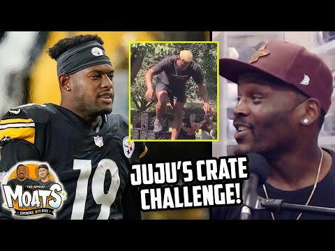 Reaction To Pittsburgh Steelers JuJu Smith-Schuster Crate Challenge