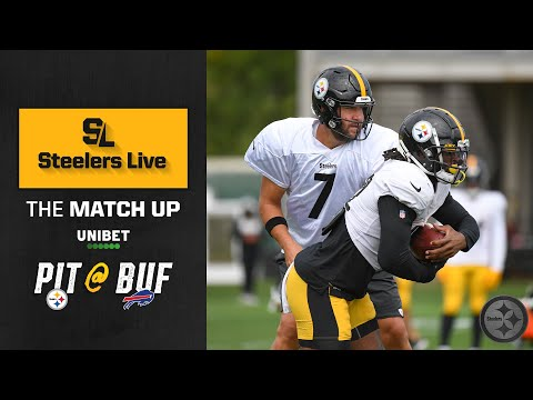 Steelers Live The Match Up (Sept. 9): Week 1 at Buffalo Bills | Pittsburgh Steelers