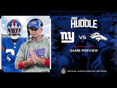 ULTIMATE Game Preview: Giants vs. Broncos Week 1 | New York Giants