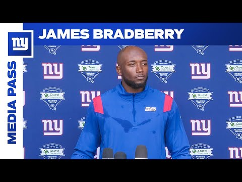 James Bradberry: 'We have to keep building' | New York Giants