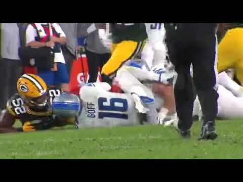 A Ghost Strip Sacked Jared Goff….