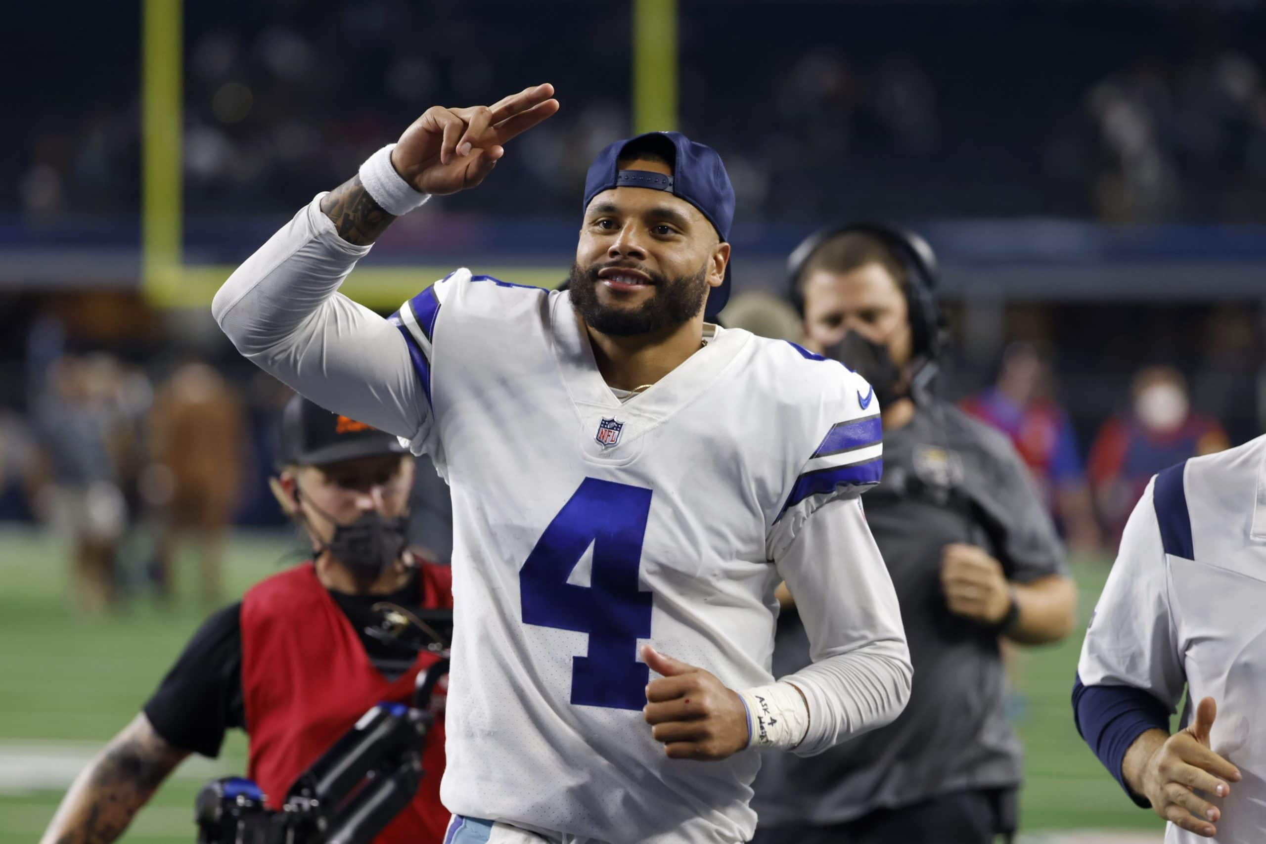 Dak Prescott After Cowboys' Take care of over Eagles: 'I'm Taking part within the Most effective I've Ever Performed'
