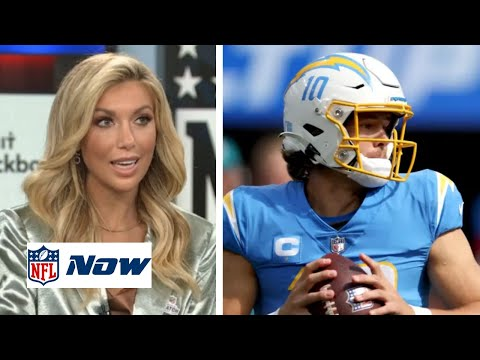 NFL NOW   Taylor Bisciotti believe Justin Herbert leading Chargers beat Ravens to nails atop at AFC