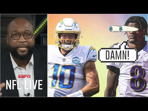 Lamar Jackson or Justin Herbert: Who will shine? - Marcus Spears predict Week 6: Chargers at Ravens